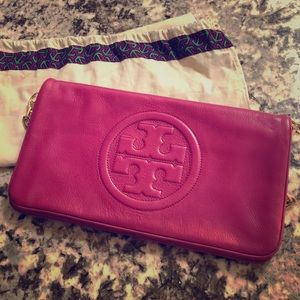 Authentic Tory Burch shoulder bag/clutch